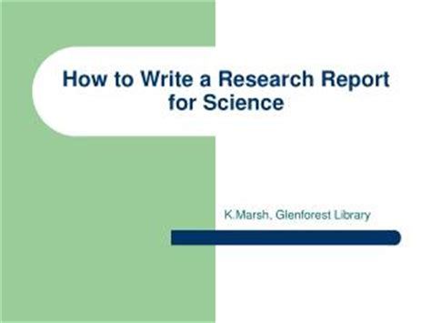 How to write introduction for lab report